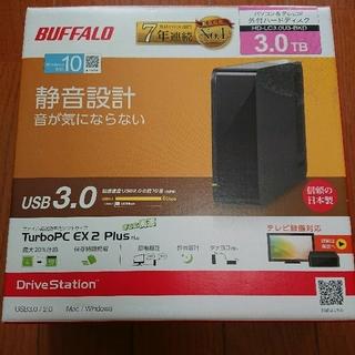 Buffalo - BUFFALO 外付けハードディスク 3TB HD-LC3.0U3-BKD