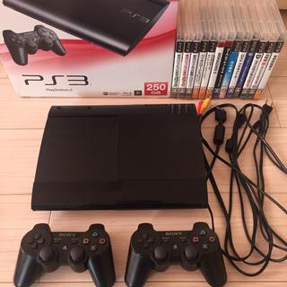 PlayStation3 - ps3 本体250GB ソフト13本まとめ売り
