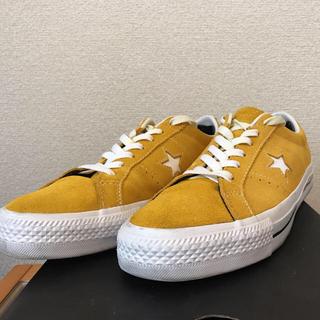 CONVERSE - converse ワンスター マスタード 27.0cm