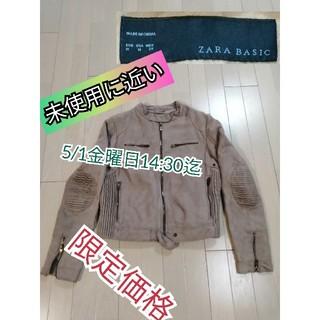 ZARA - 送料800込❗ザラZARA中綿ジャケット未使用に近いステキノーカラー