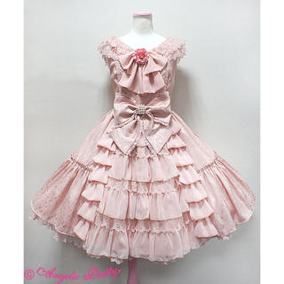 Angelic Pretty - Romantic Rose Princessジャンパースカート