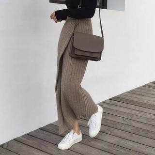dholic - リブニットスカート