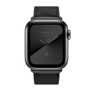 エルメス(Hermes)の新品未使用 Apple Watch Hermes 5 black 44mm 黒(腕時計(デジタル))
