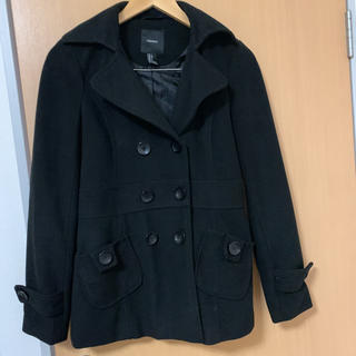 FOREVER 21 - フォエバー21 新品 冬物ジャケット コート 黒