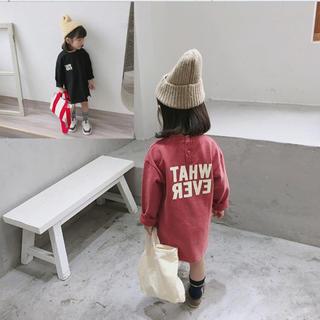 ストリート ワンピース Tシャツ 大人気 韓国子供服(ワンピース)