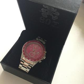 Disney - Disney 腕時計 回転ベゼル ミッキー 生誕80周年記念 ピンク