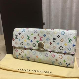 LOUIS VUITTON - 定番人気!ルイヴィトン モノグラム マルチカラー長財布