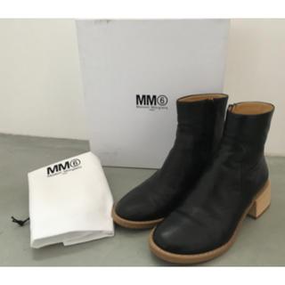 エムエムシックス(MM6)のMM6 マルジェラ ショートブーツ(ブーツ)