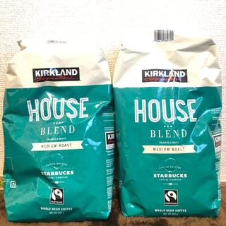 Starbucks Coffee - カークランド スターバックス ミディアムロースト ハウスブレンド 2個セット