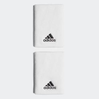 アディダス(adidas)の新品 adidas リストバンド ホワイト 白(バングル/リストバンド)