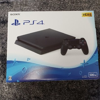 PlayStation4 - 【新品未開封】PlayStation4 本体 500GB