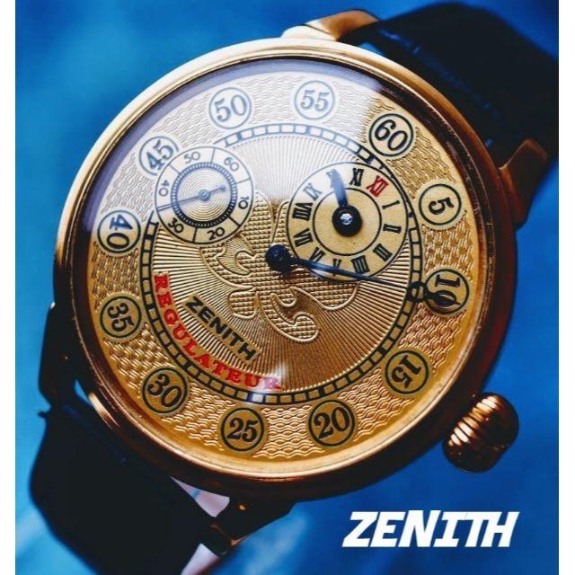スーパー コピー ロレックス口コミ / ZENITH - ◆ゼニス◆ OH済/激レアのレギュレーター/裏スケ/アンティーク/腕時計/手巻の通販
