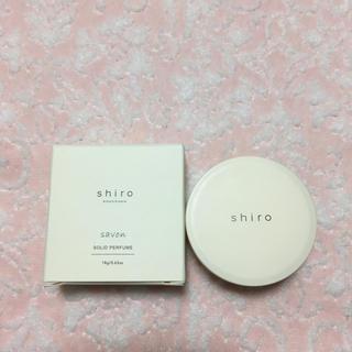 shiro - shiro 練り香水 savon