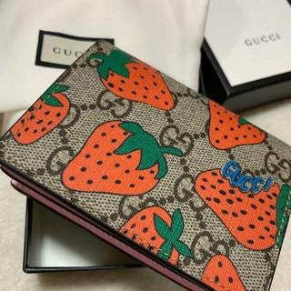 Gucci - GUCCI ストロベリー 財布 ミニ財布 いちご
