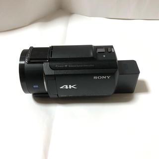 SONY - SONY 4K デジタルビデオカメラ FDR-AX45 純正バック付き ブラック