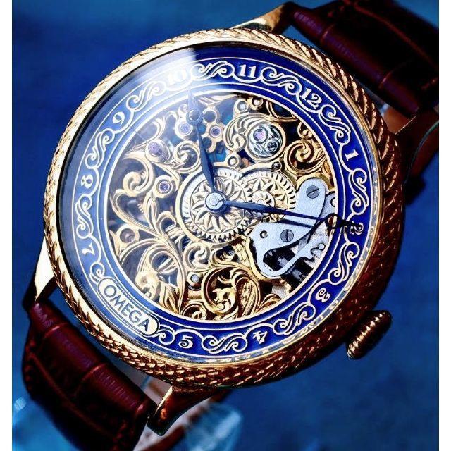 ロレックス 時計 レディース コピーペースト | OMEGA - T•O様専用◆オメガ◆ OH済/彫金/スケルトン/アンティーク/腕時計/手巻の通販