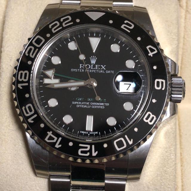 タンク フランセーズ 男性 | ROLEX - ロレックス GMTマスター 2 ランダム 116710LN の通販 by どっぽ4156's shop