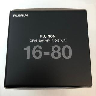 富士フイルム - フジノンレンズ XF16-80mmF4 R OIS WR