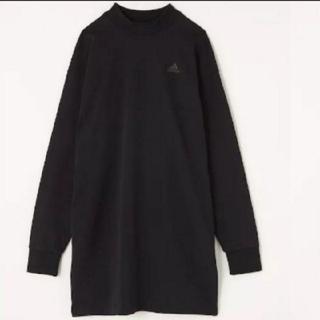 マウジー(moussy)の新品 MOUSSY ロングスリーブTシャツadidas(Tシャツ(長袖/七分))