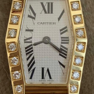 Cartier - カルティエラニエールヘキサゴン腕時計美品