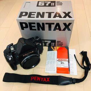 PENTAX - PENTAX 67II 中版フィルムカメラ ※AEファインダーなし