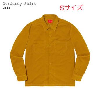 Supreme - Supreme Corduroy Shirt コーデュロイ S