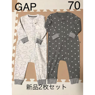 babyGAP -  GAPロンパース2枚セット[新品]サイズ70