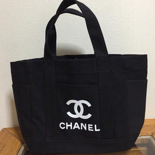 CHANEL - 厚手キャンバス 3ポケット トートバック ♡