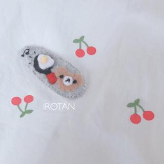 プティマイン(petit main)のhandmade ♡ ヘアピン 29(ファッション雑貨)