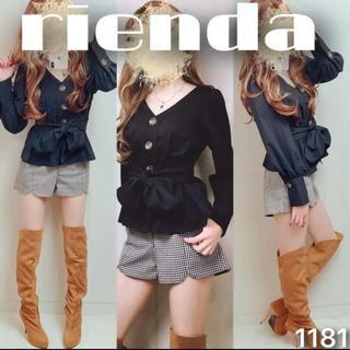 rienda - ♡コーデ売り1181♡トップス×ショートパンツ