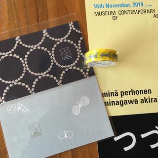 mina perhonen - ミナペルホネン つづく展限定マステとポストカード
