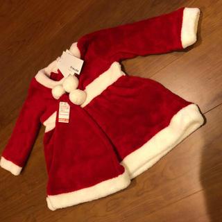 【新品、タグ付き】サンタクロース ワンピース 100センチ