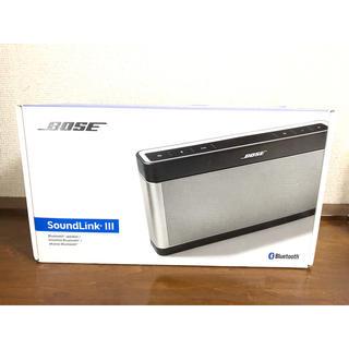 ボーズ(BOSE)の【期間限定】Bose SoundLink BluetoothSpeakerIII(スピーカー)
