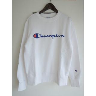 チャンピオン(Champion)の新品/Champion チャンピオン トレーナー スウェット 白ホワイト XS(トレーナー/スウェット)