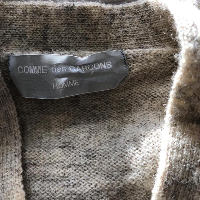 COMME des GARCONS(コムデギャルソン)のコムデギャルソン オム  カーディガン ad1998  メンズのトップス(カーディガン)の商品写真