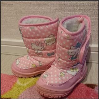 サンリオ(サンリオ)の☆専用☆ハローキティ モコモコ ブーツ 未使用(ブーツ)