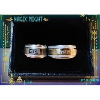 ステンレス 太リング  ペア ユニセックス(リング(指輪))