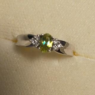 K 14スフェーン ダイヤモンドリング(リング(指輪))