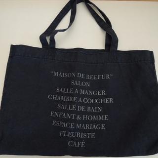 Maison de Reefur - 【美品】メゾンドリーファー トートバッグ キャンバス 紺