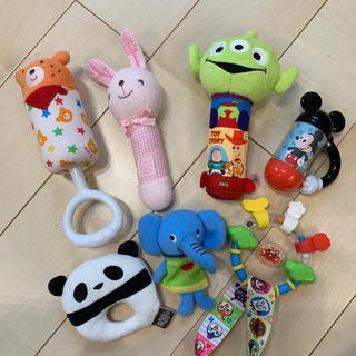 Disney - 新生児 おもちゃセット