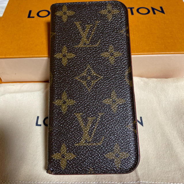 LOUIS VUITTON - ルイヴィトン iPhone8 フォリオ iPhoneケース モノグラム 正規品の通販 by NATURA365|ルイヴィトンならラクマ