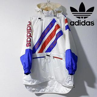 adidas - レア!アディダス ナイロンジャケット L スキー ウェア デサント メンズ 古着