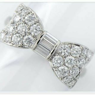 ハリーウィンストン(HARRY WINSTON)の■ギメル  リボン  極上ダイヤモンド リング (リング(指輪))