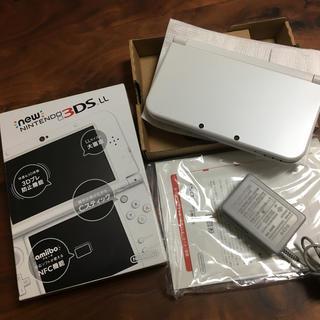 任天堂 - Nintendo 3DS NEW ニンテンドー 本体 LL パールホワイト