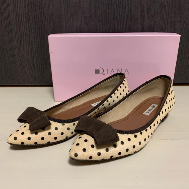 DIANA(ダイアナ)のローヒール パンプス レディースの靴/シューズ(ハイヒール/パンプス)の商品写真