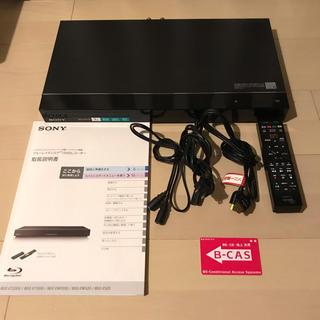 SONY - 【美品】SONY ブルーレイディスク/DVDレコーダー BDZ-EW1200