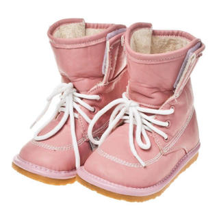 新品☆ピッピッと音のなるキッズブーツ☆サイズ13.4☆ピンク(ブーツ)