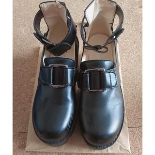 厚底靴(ローファー/革靴)