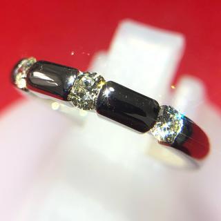 ピカピカ! 美品! プラチナ ダイヤモンド リング 指輪 pt900 10.5号(リング(指輪))