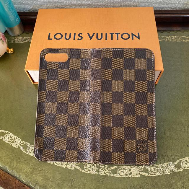 LOUIS VUITTON - ルイヴィトン ダミエ 手帳型iphoneケースの通販